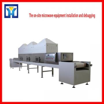 Continous Microwave Drying Flower Tea Equipment