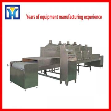 Industrial Tunnel Type Microwave Tea Flower Herbs Dryer and Dehydrator Machine