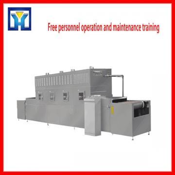 Tunnel Belt Microwave Bread Crumband Protein Powder Drying Machine