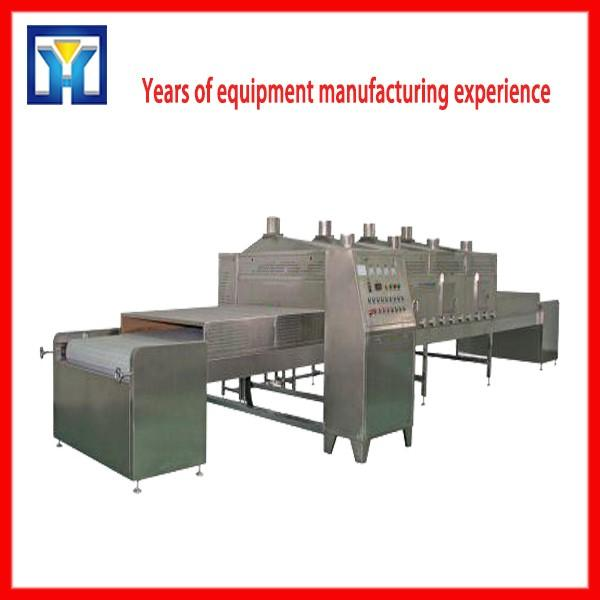 Industrial Tunnel Type Microwave Tea Flower Herbs Dryer and Dehydrator Machine