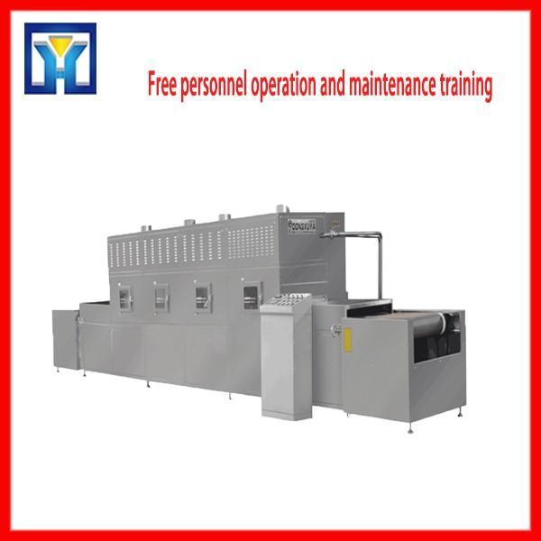 915Hz 60KW Microwave Food Thawing Machine Adjustable Transmisison Speed